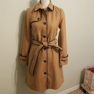 Jackets & Blazers - Julie Brown NYC Trench Coat Black/Tan